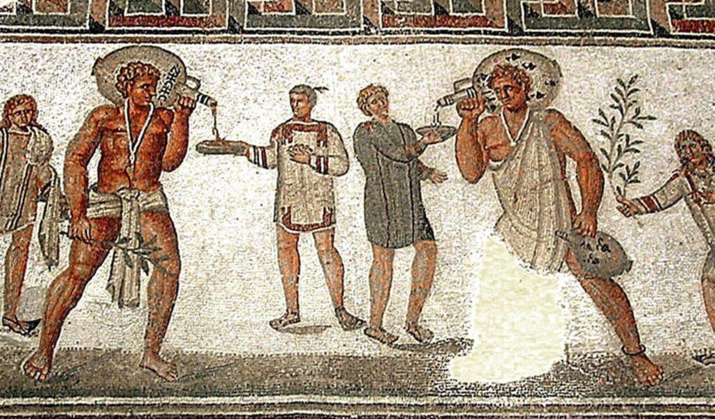 Romeinse wijnhandelaren